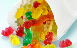 Gummy sweet confectionery